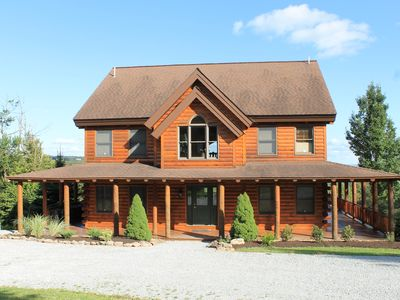 Photo for Amazing log home with views that abound! Al Meucci Real Estate