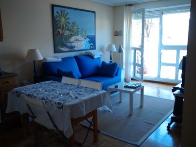 Photo for Apartment with private garden and pool