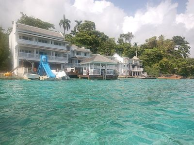 Photo for ABSOLUTE WATERFRONT! FAMILY! CHEF! SPOIL YOURSELF! San Bar, Blue Lagoon 6BR
