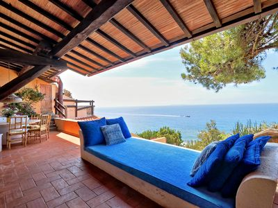 Photo for Wonderful apartment with descent to the sea in Tuscany, Monte Argentario