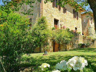 Photo for Entire apartment in a Tuscan farmhouse