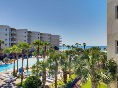 Photo for SUPER VALUE!!!  Waterscape B312 ~ Beach/Pool Views ~ 2 King Suites + Bunkroom ~ Beach Service