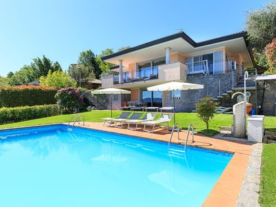 Photo for Exquisite Villa With Private Pool And Fabulous Views Over The Lake