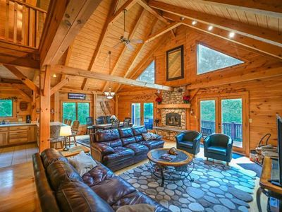 Photo for Beautiful post & beam home between Stratton & Mount Snow