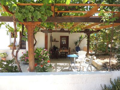 Photo for Small country house with garden and vine arbor next to 2 wonderful beaches