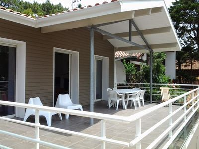 Photo for Quiet villa 300 meters from patrolled beaches