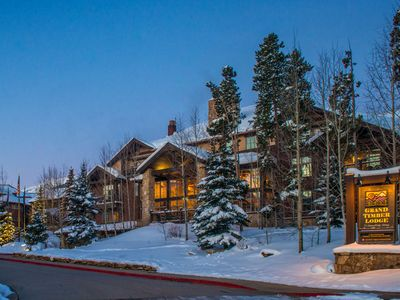 Photo for **SKI IN/OUT AT  BRECKENRIDGE  - 2 BED CONDO - GRAND TIMBER LODGE