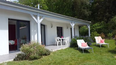 Photo for New house near La Palmyre, 2 km beach, wooded area and quiet, enclosed garden