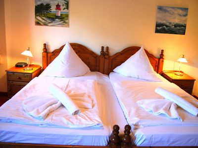 Photo for Double rooms 22 - Hotel Heiderose on Hiddensee