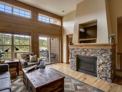 Photo for Walk Into Town | Trails Out Your Door | Private Hot Tub | Ski Area Views