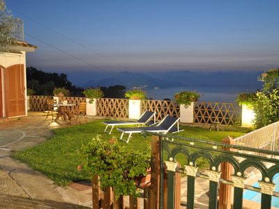 Photo for ' Casa 2 Ulivi ' bright and spacious sea view, solarium, private pool