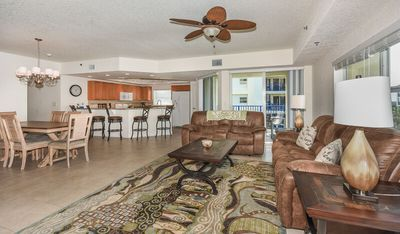 Photo for Stunning 3/2 corner unit with gorgeous sneak peaks of the ocean. OW12-407