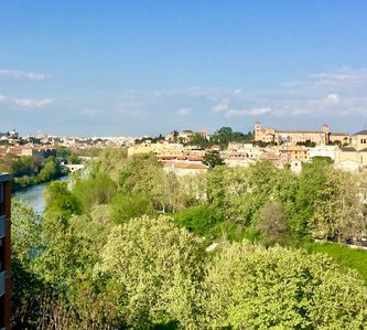 Photo for Penthouse with Tiber view Trastevere - Porta Portese