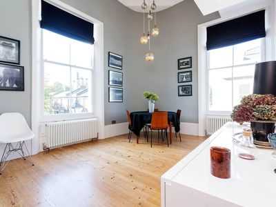 Photo for Stylish 2 bed apartment in hip Shoreditch, Sleeps 3