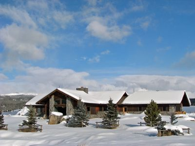 Also a superb winter destination! Central to awesome riding, skiing, Yellowstone