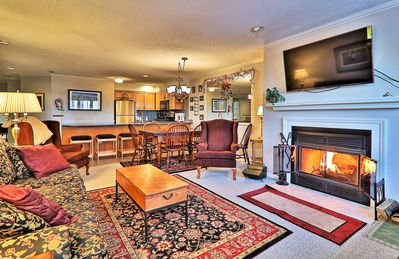 Photo for 3 bedroom Winterplace condo, Short walk to the trail. Sleeps 8