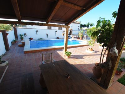 Photo for Chalet with deluxe pool quiet area