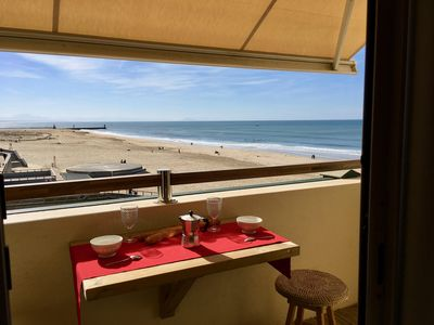 Photo for Hossegor central beach, beautiful studio any comfort classified ocean.