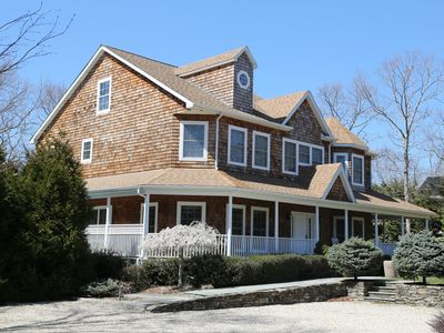 Photo for Beautiful Sag Harbor Home w/Pool Walk to Beach/Village HomeAway/VRBO