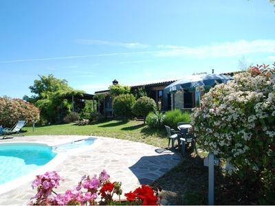 Photo for lovely ground floor cottage, sleeps 6 , set in a tranquil ,private and panoramic position – complete