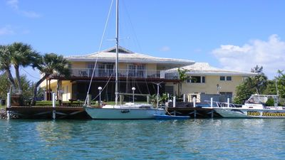 Photo for Beautiful, Tropical 2 BR/2 Full Bath Waterview Dockage Available Lucaya/Freeport