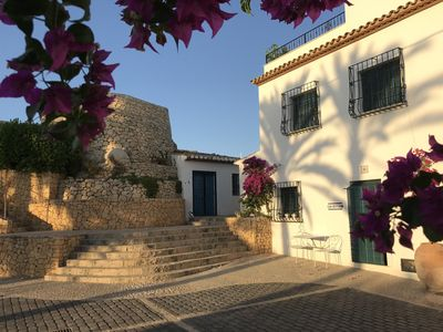 Photo for Mediterranean House in old quarter of Altea, Spain. Spectacular terrace