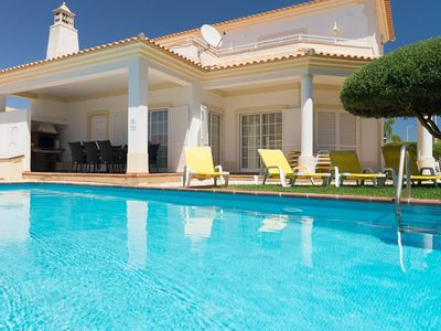 Photo for Excellent Villa  near beach for families. Private pool. Games room, Aircon. WiFi