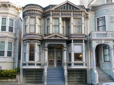 Painted Lady Victorian Built in the Late 1800's