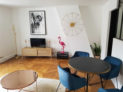Photo for Excelsior Lodging - Charming 2 rooms of 40m² in the Marais