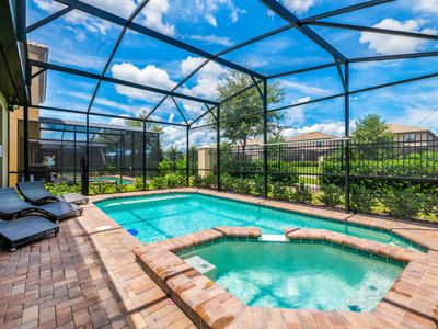 Photo for Themed 5 Br Private Pool Home with Resort Amenities. 1836