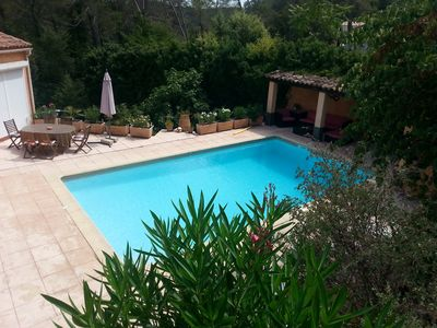 Photo for Pretty villa any comfort, swimming pool and pool house, furnished tourism 4 ****