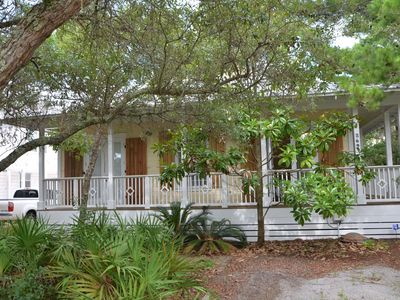 Photo for Cozy 3 Bed/2 Full Bath Beach Cottage on corner lot W/Private Pool