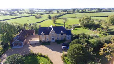 Photo for Luxury Somerset country house, perfect for friend and family gatherings.