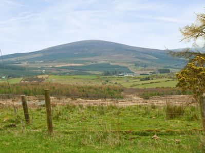 Wicklow Hills and surrounding countryside