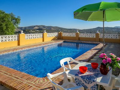 Photo for Club Villamar - Nice and cozy villa with fenced pool and precious panoramic views
