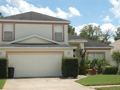 Photo for 4 bedroom 2.5 Bathroom Vacation  Pool Home in Kissimmee 4912