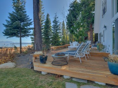 Photo for NEW - Belleview - Iconic 7 BR Lakefront with Hot tub and Pier