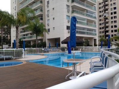 Photo for FIT 2 QTS.  RIOCENTRO, ARENA HSBC, NEAR THE BEACH OF RECREATION