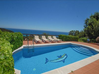 Photo for Upon entering Villa Blanes Damia you will be stunned by the fantastic sea views.  The villa feature