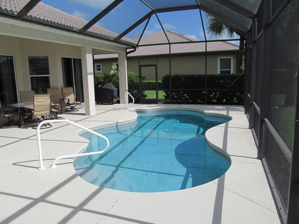 Peak Season 2019 Available Exceptional 3br Lake View Pool Home In Lely Resort Naples Florida