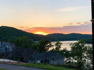 Photo for NEW LISTING! Beautiful lake view townhouse w/ deck, gas fireplace, dog-friendly