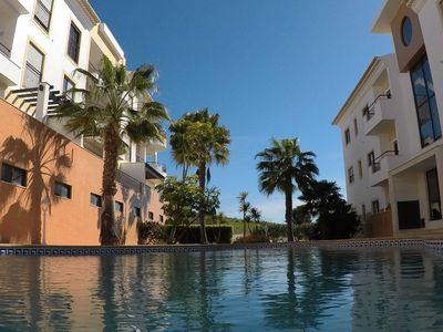 Photo for Apartment with pool and sea view - Apartment Lagos Algarve Portugal