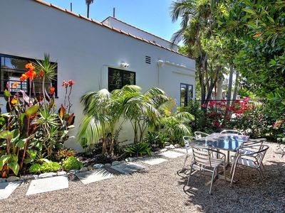 Photo for Epic West Beach property - outdoor living, 2 blocks to beach, Funk Zone, pier, harbor!
