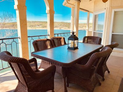 Photo for Largest Waterfront Villa on Private, Gated Island - Panoramic Views - All Amenities