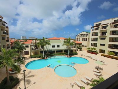 Photo for Immerse in Aruba's Sunshine from your Large Balcony,5 min to Best Beaches,Great for Families
