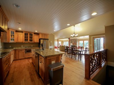 Photo for Beautiful luxury home in between Boone and Blowing Rock, NC with amazing views