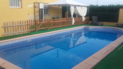 Photo for Beautiful house with swimming-pool