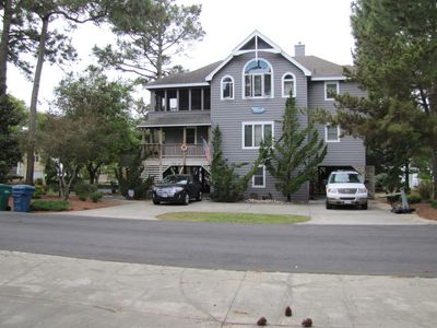Photo for SOUND VIEWS, CLOSE TO BEACH, 5 Bedrooms, Theater, Kayaks, Bikes, ITS ALL HERE!