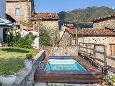 Photo for Beautiful private villa with sauna, WIFI, private pool, TV, terrace, pets allowed and panoramic ...