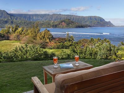Photo for Aloha & welcome to beautiful Hanalei Bay Resort ocean view room 9104,5,6